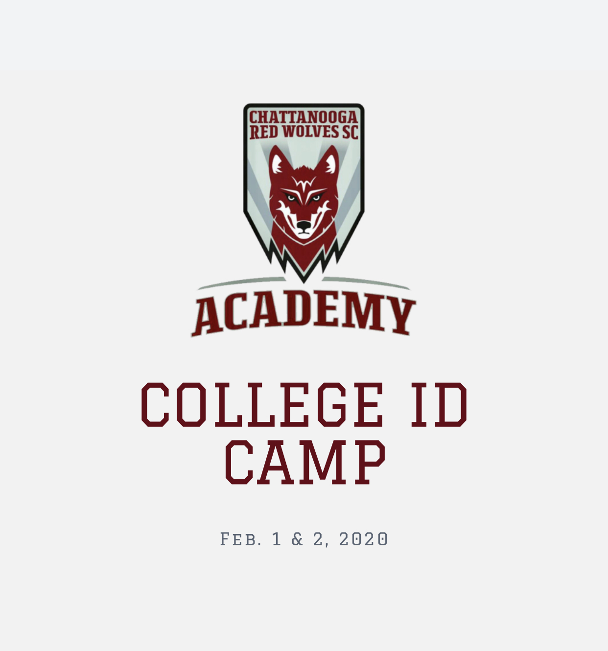 College ID Camp